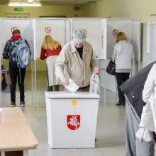 VRK: rinkimai kol kas vyksta sklandžiai