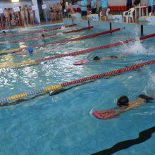 Beveik 900 Kauno rajono antrokų šiais mokslo metais išmoko plaukti