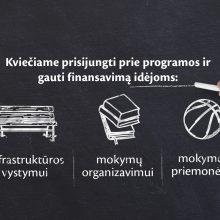 """""""Maxima"""" bendruomenių̨ mokymosi veikloms skirs 80 tūkst. eurų"""
