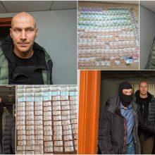 """Prašymas suimti """"Aro"""" į teismą atlydėtą Kauno policijos veteraną liko nenagrinėtas"""
