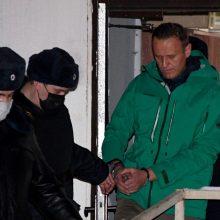 Po A. Navalno sulaikymo – piketas prie Rusijos ambasados Vilniuje: dalyvaus ir keli Seimo nariai
