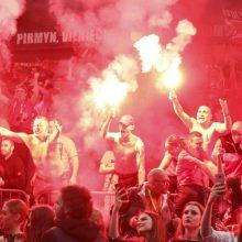 Seimas ėmėsi griežtesnių saugumo reikalavimų per sporto renginius