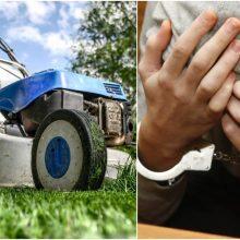 Gudriai užsidirbti iš žoliapjovių verslo vyrams nepavyko: gresia belangė