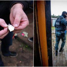 Kauno kriminalistų laimikis – dar trys narkotikų pirkėjai ir pardavėjas