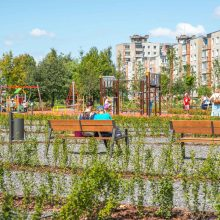 Kaune atidaromas dar vienas atnaujintas parkas: labiausiai džiaugsis šilainiškiai