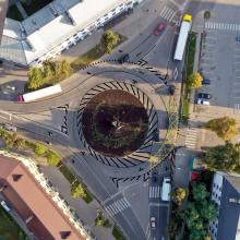 Petrašiūnų žiedinėje sankryžoje – aiškesnė eismo tvarka