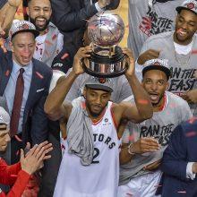 """""""Raptors"""" klubas pirmą kartą žais NBA finale"""