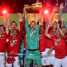"""Vokietijos taurė sugrįžo į """"Bayern"""" futbolininkų rankas"""