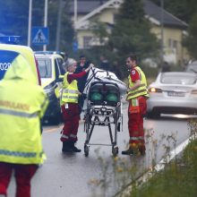 Norvegijos mečetėje – kruvinos šaudynės, yra sužalotų