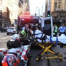 Sidnėjuje peiliu švaistęsis vyras nužudė moterį, dar vieną sužeidė