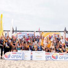 Paaiškėjo Lietuvos paplūdimio tinklinio čempionato nugalėtojai