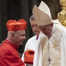 Kardinolo S. Tamkevičiaus ingresas į titulinę bažnyčią Romoje
