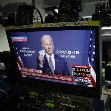 Apklausa: beveik 80 proc. amerikiečių mano, kad rinkimus laimėjo J. Bidenas