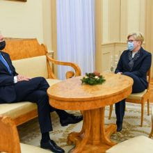 A. Skaisgirytė: Prezidentūra nemato reikalo diskutuoti dėl atstovavimo EVT