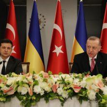 Turkijos prezidentas R. T. Erdoganas pareiškė paramą Ukrainai