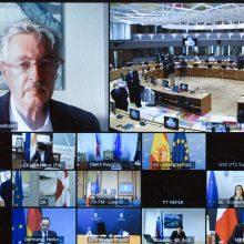 M. Adomėnas: ilgalaikis politinis sprendimas Artimuosiuose Rytuose – tik derybų keliu