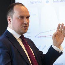 Ž. Mauricas: Lietuva bus viena iš nedaugelio valstybių, kuri augins pramonę