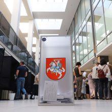 Lemiama diena: renkame Lietuvos prezidentą ir atstovus Europos Parlamente