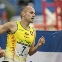Europos čempionate J. Kinderis iškovojo olimpinį kelialapį