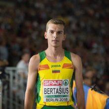 Bėgikas S. Bertašius laimėjo varžybas Šveicarijoje