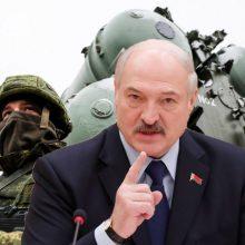 """A. Lukašenka: NATO """"metodiškai"""" telkia karinę infrastruktūrą prie Baltarusijos sienų"""