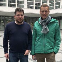 A. Navalno bendražygis: V. Putinas ruošiasi suklastoti rugsėjį vyksiančius rinkimus