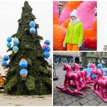 Pristatyta kosminė Kalėdų eglė: laukia daugybė spalvų ir puokštė renginių