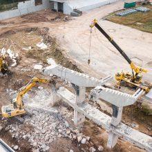 Statybinė technika grįžta į S. Dariaus ir S. Girėno stadioną: prasideda realūs darbai