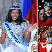 """""""Mis Pasaulis"""" nugalėtoja tapo Jamaikos atstovė"""