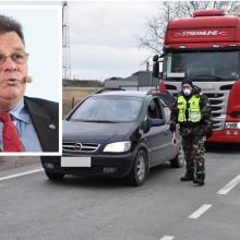 L. Linkevičius: oficialios informacijos dėl uždarytos Baltarusijos sienos neturime
