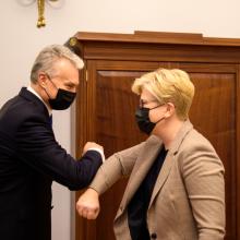 V. Blinkevičiūtė: ginčas dėl atstovavimo EVT – sureikšmintas dalykas, kuris nėra toks reikšmingas