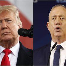 B. Netanyahu: D. Trumpo taikos planas Artimiesiems Rytams bus istorinis