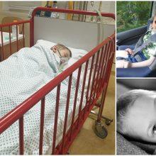 Neįgalus septynmetis – reanimacijoje: vaikui labai reikalinga geradarių pagalba