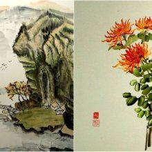 I.L. Savickienės parodoje – rytietiškos tapybos interpretacijos