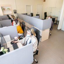 Duris atvėrė Kauno miesto poliklinikos skambučių centras