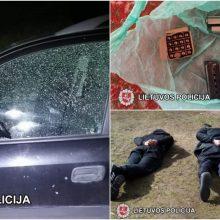 Tiriamas per Velykas nugriaudėjęs sprogimas: sulaikyti įtariamieji, rasta sprogmenų ir narkotikų