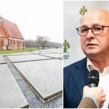 """V. Matijošaitis apie situaciją Zapyškio bažnyčios prieigose: """"Užuojauta..."""""""