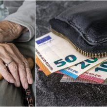 Šiauliuose siaučia sukčiai: prisistato policininkais ir išneša senolių pinigus