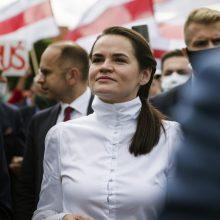 """S. Cichanouskaja ragina Lietuvą įvesti sankcijas trąšų gamintojai """"Belaruskalij"""" <span style=color:red;>(interviu)</span>"""