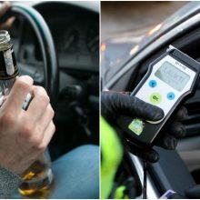 Garliavoje pareigūnai patikrino vairuotoją: tarp puokštės pažeidimų – ir 3,44 prom. girtumas