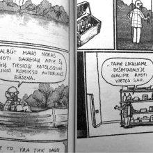 Dialogas tarp personažo ir autoportreto: komiksų kūrėjo įspūdžiai