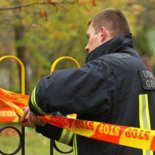 Vilniuje rasti sprogmenys ir šaudmenys išvežti sunaikinti