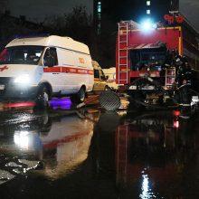 Maskvoje per gaisrą ligoninėje žuvo COVID-19 pacientė