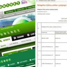 Rutina: balandžio pradžioje teismas leido jau 27 kartą blokuoti prieigą prie naujai sukurtos internetinės svetainės lt.unibet-26.com.