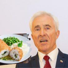 Seimo valgykloje negalintis pietauti D. Kepenis: jaučiuosi pasmerktas kaip Hitlerio laikais