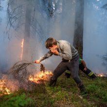 Tragedija: degindamas žolę vyras pats mirė apsinuodijęs dūmais