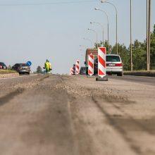 Įsibėgėja vienos judriausių sostinės gatvių atnaujinimas: kas jau padaryta?