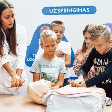 """""""Megoje"""" duris atvėrė Sveikatos pažinimo akademija vaikams"""
