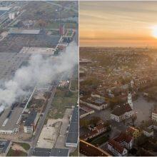 Oro tarša Kaune tebeviršija normas: svarstoma, ar dėl to kaltas gaisras Alytuje