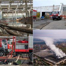Nuo gaisro Alytuje nukentėjusios įmonės sieks kompensacijų iš Vyriausybės